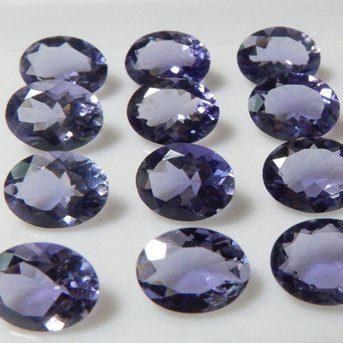 10x12mm iolite oval cut