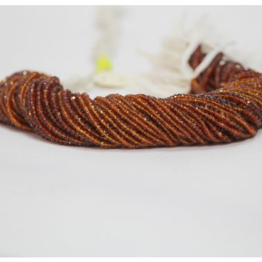 Shop Brandy Citrine Faceted Rondelle Beads & Get FREE SHIPPING