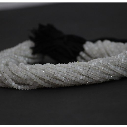 siloni moonstone faceted beads