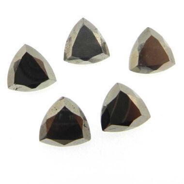 6mm pyrite trillion cut