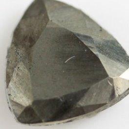 8mm pyrite trillion cut