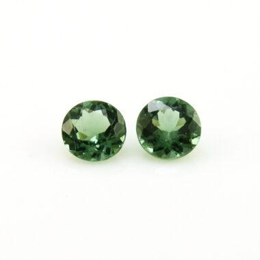 6mm green apatite round cut