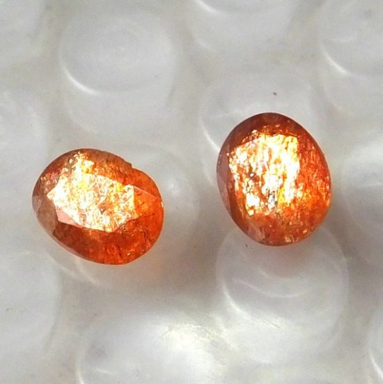 sunstone oval cut