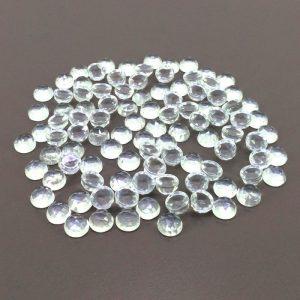crystal quartz rose cut
