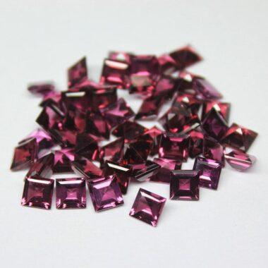 Natural Rhodolite Garnet Princess Gemstone