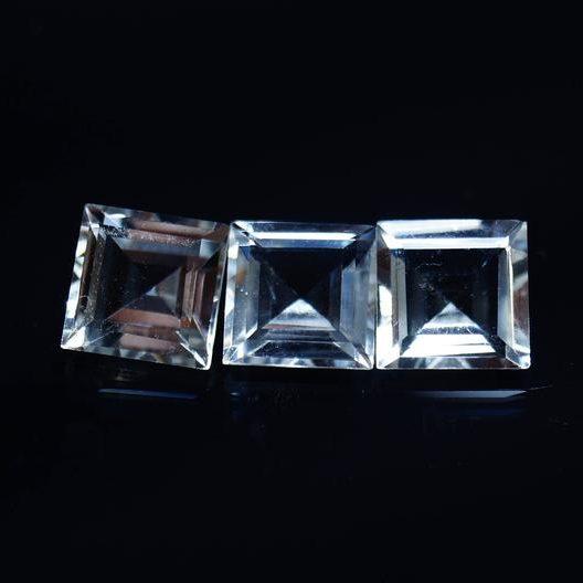 Natural Crystal Quartz Princess Gemstone