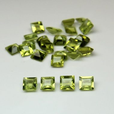 peridot princess cut