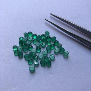 green onyx cabochon