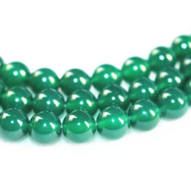 Shop 10mm Natural Green Onyx Smooth Round Beads