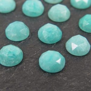 amazonite rose cut