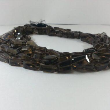Shop Smoky Quartz Faceted Tumble Nuggets Beads