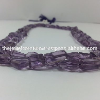 Shop Amethyst Faceted Tumble Nuggets Beads Strand