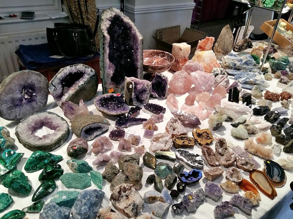 Visit Tucson Gem, Mineral & Fossil Show - Schedule 2020