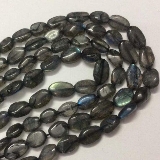 Shop Labradorite Smooth Tumble Nuggets Beads