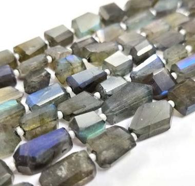Shop Labradorite Faceted Tumble Nuggets Beads