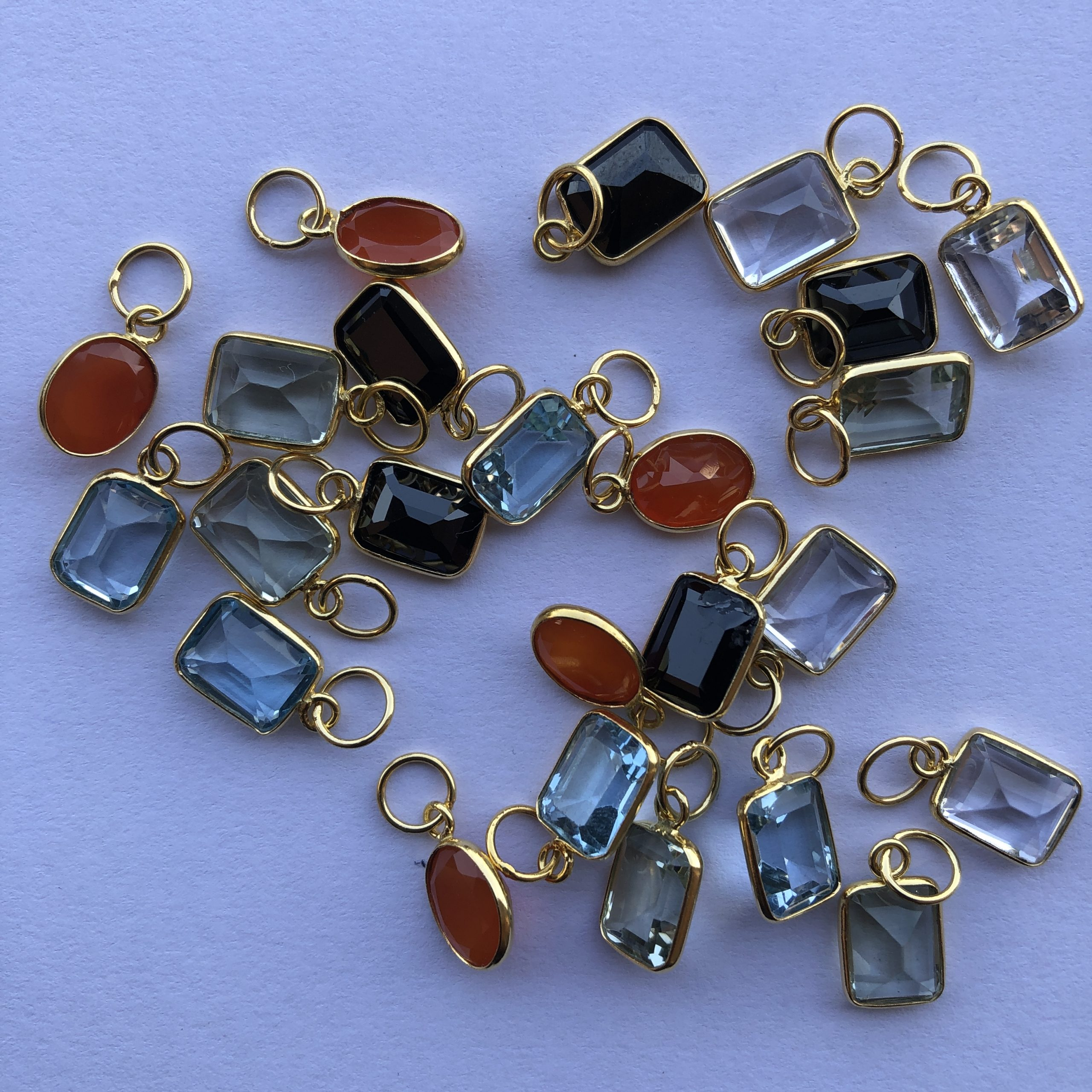 Shop 14k Solid Gold Gemstone Pendant & Charms - Get FREE SHIPPING