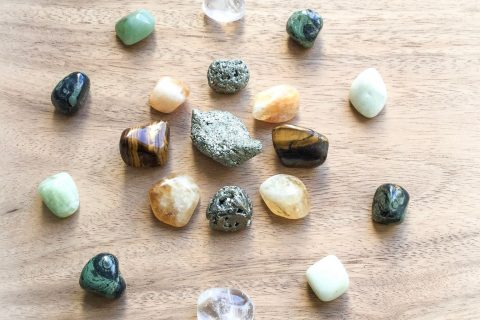 Crystal and Stones for Prosperity